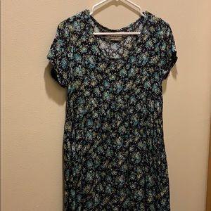 American Apparel floral babydoll dress